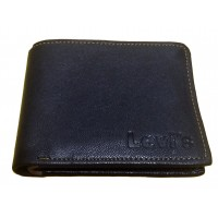 OkayTree Black Leather Wallet For Men`s