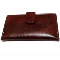 OkayTree Brown Leather Clutchs for Women`s